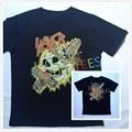 New 3D Rock Band Skull SLAYER T Shirt Men Hip Hop Streetstyle Short Sleeve Men T-shirt Funny Brand O Neck Cotton Shirt Homme Tee