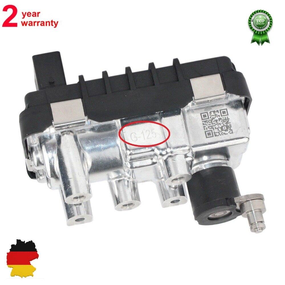 AP03 Turbo Attuatore Elettrico G-125 per BMW 5er 525d 530d E60 E61 X5 E53 G125 712120 781751 6NW008091 6NW009483AP03 Turbo Attuatore Elettrico G-125 per BMW 5er 525d 530d E60 E61 X5 E53 G125 712120 781751 6NW008091 6NW009483