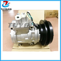 20Y 979 D380 10PA15C Auto air conditioning compressor for Excavator tractor PC200 6 6D102