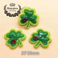 10pcs Happy St. Patrick's Day Miniature Art Crafts