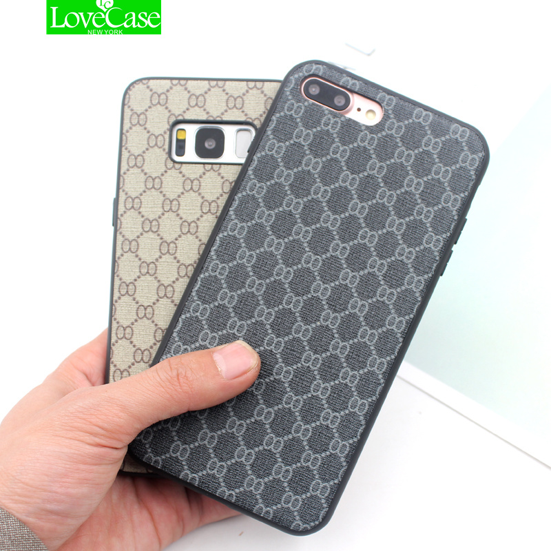 LoveCase phone case For iPhone X IX 8Plus Luxury Ultra Thin Slim Back Cover Case For iPhone 6s 7 8 Plus Leather Coque Fundas