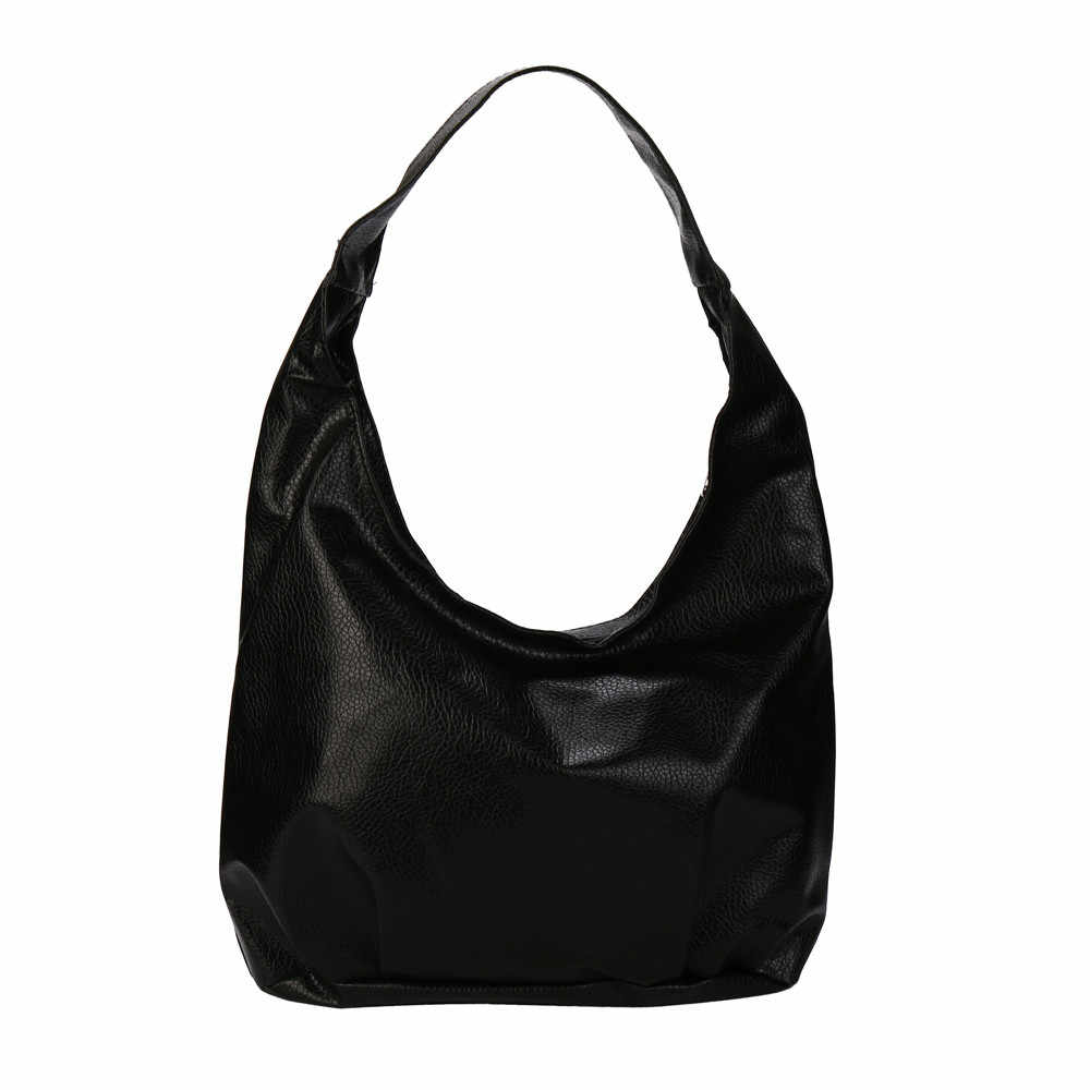 Fashion Women PU Leather Shoulder Bag Satchel Crossbody Tote Bag Top-handle Bags  Female Handbag ad73edf109e3a