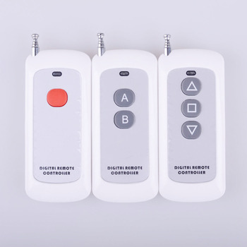 RF transmisor de Control remoto botón grande mano Teclado Remoto 1 2 3  botón 1527 2262 315 433 MHz remoto inalámbrica doméstica 8c2126b719b4