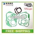 YX140 YX junta de óleo de refrigeração do motor horizontal dirt pit bike kayo bse off road acessórios da motocicleta frete grátis