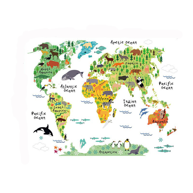 Hot sales home decor poster letter world map lovely quote removable hot sales home decor poster letter world map lovely quote removable vinyl art decals mural living room wall stickers in wall stickers from home garden on gumiabroncs Choice Image