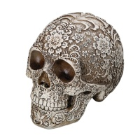 New Resin Craft Skull Statues Garden Statues Sculptures Skull Ornaments Creative Art Statue Halloween Home Decoration