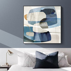 Abstract Blue Tone C...