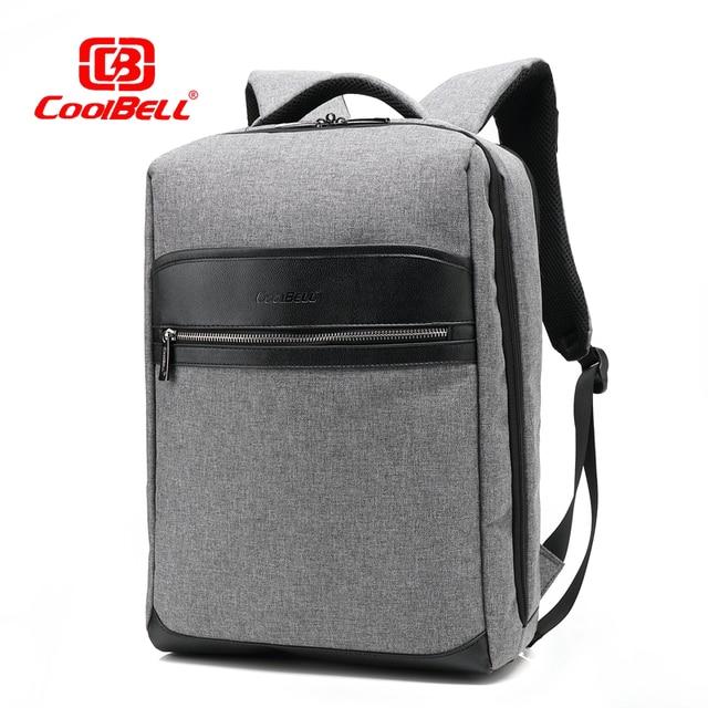 Cool Bell Waterproof Backpack Men Women Laptop Backpack 15 15 6 Inch