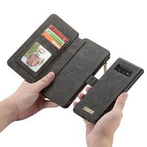 Image 1 - Кожаный чехол для Samsung Galaxy note 8 9 10 20 s8 s9 s10 5g S20 plus ultrass10e s7 edge, кошелек, чехол Etui, Модный чехол для телефона