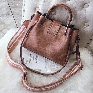 Image 4 - Lüks çanta kadın PU deri omuz çantası kadın kadınlar için Crossbody çanta postacı çantası Casual Tote bayan el çantası kese
