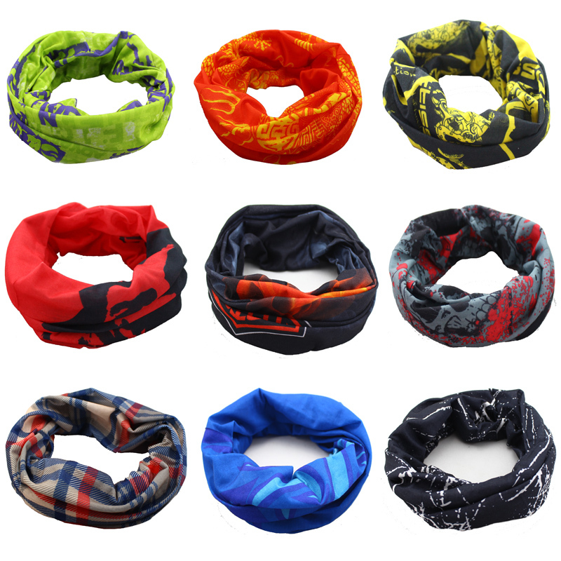 SexeMara Magic Seamless High Cycling de Bandana Scarves
