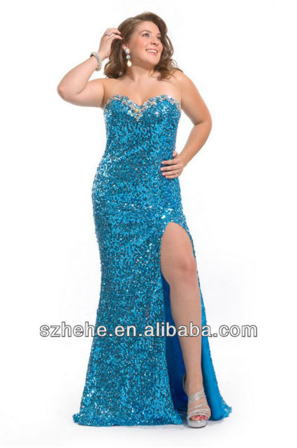 TT167 beaded plus size sexy backless prom dresses 2013-in Prom ...