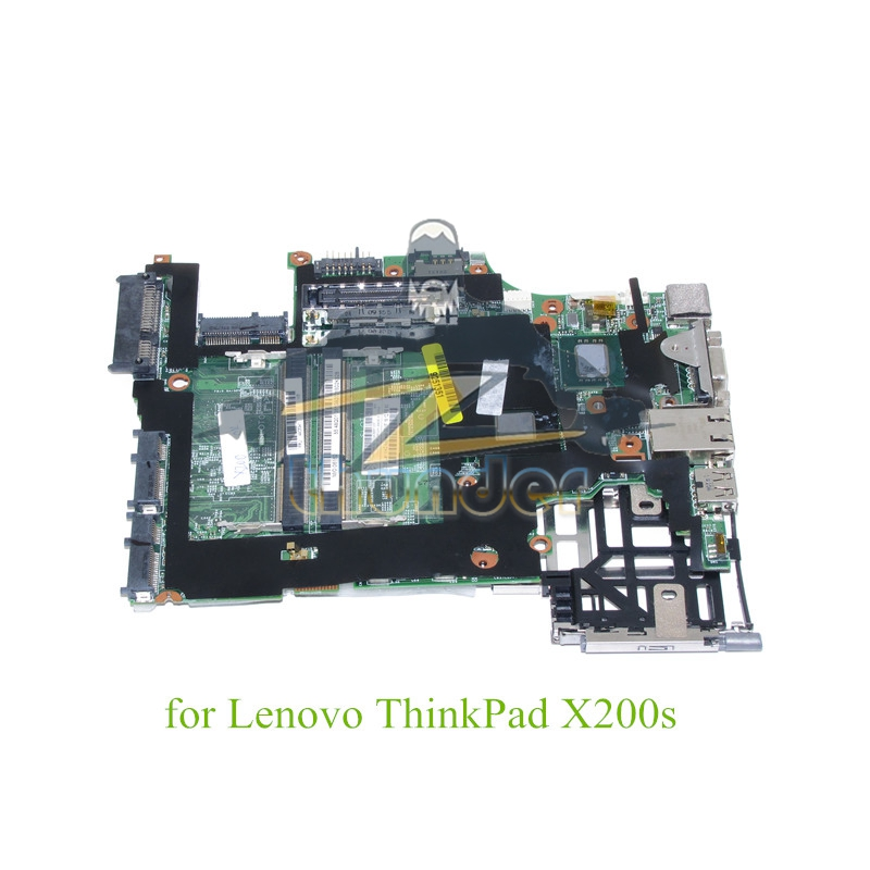 FRU 44C5341 of lenovo thinkpad X200S laptop motherboard SL9400 cpu DDR3