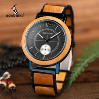 relogio masculino BOBO BIRD Wood Lovers' Watches Top Brand Luxury Men Watch Women Quartz Wristwatches Accept Logo Drop Shipping