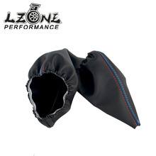 LZONE – For BMW 3 Series E36 E46 M3 Car Shift Gear Stick Manual Handbrake Gaiter Shift Boot Black Leather Boot Car-Styling