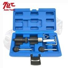 Купить с кэшбэком 7pc Universal Diesel Engine Timing Cam Crank Locking Tool Set For AUDI T10050 T10100 ST0049 AT2049
