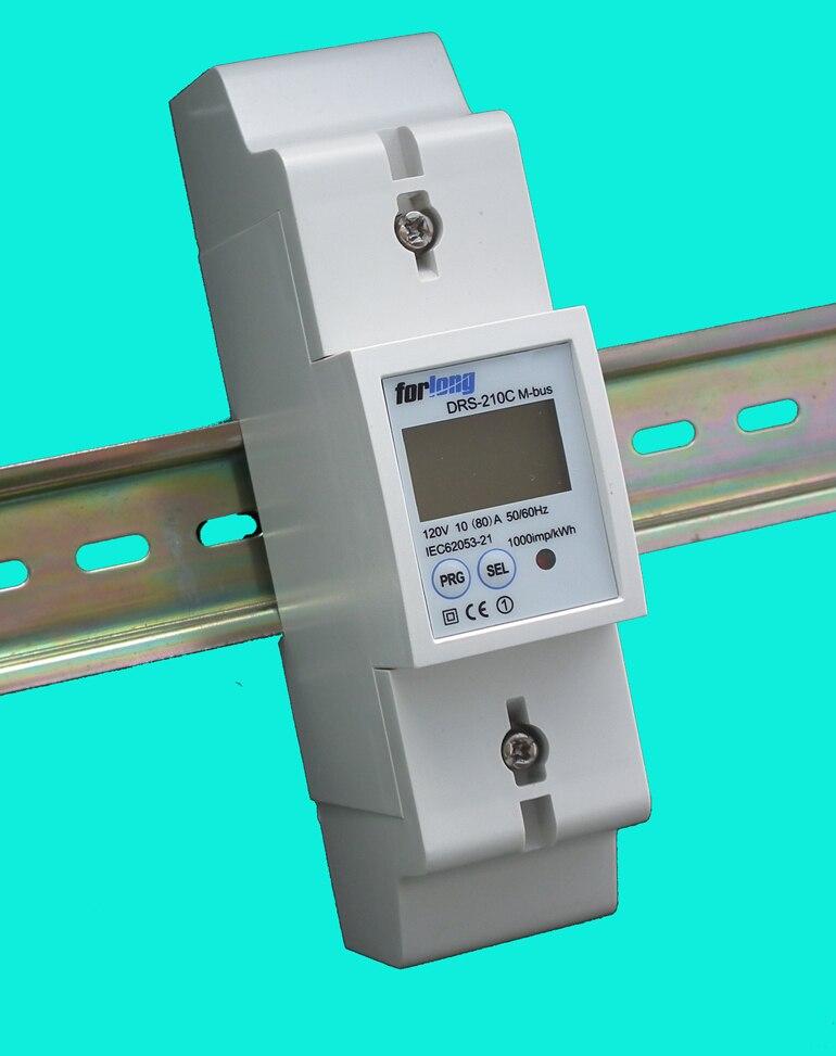 DRS 210C Modbus einphasig zwei draht Din schiene energiezähler für ...