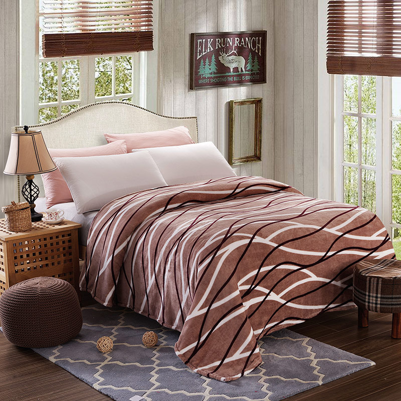 luxury fleece blankets extra soft and warm bed blanket. Black Bedroom Furniture Sets. Home Design Ideas