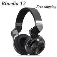 Bluedio T2 Bluetooth Nirkabel 4 1 Stereo Headphone Kebisingan Membatalkan Headset Dengan Mic Berkualitas Tinggi Bass