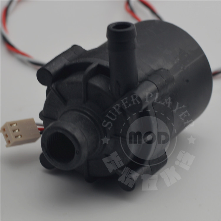 Image 5 - Super Slient computer case SC600 water pump cooling black ceramic pc pump support speed control 12v 4pin,drop shipping-in Fans & Cooling from Computer & Office