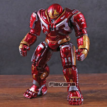 Marvel Avengers Hulkbuster PVC Action Figure Collectible Modelo Toy com Luz LED(China)