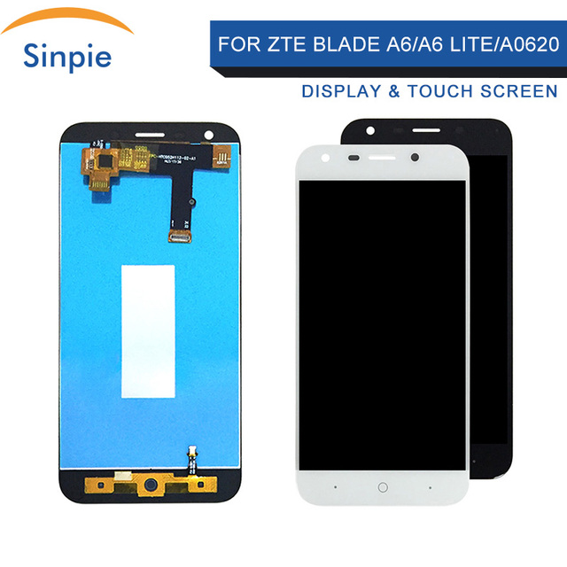 Sinpie Mobile Phone LCDs For ZTE Blade A6/A6 Lite/A0620 LCDs Display and Touch Screen Assembly Repair Parts With Tools+ Adhesive