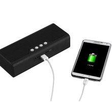 Портативный высокое Мощность Bluetooth Динамик Беспроводной музыкальный телефон зарядка с карты FM Радио гарнитура сабвуфер Колонки для смартфонов