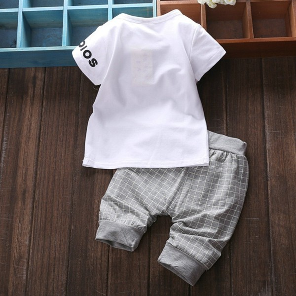 Baby Kids Boys Girls Clothing Sets 4 Colors Casual Style Stars Printing Clothes Kids Clothes 07