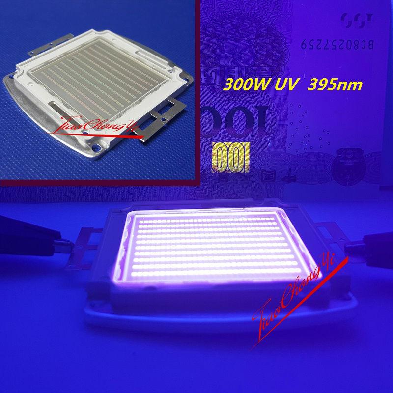 300W SMD High Power <font><b>LED</b></font> Ultra Violet <font><b>UV</b></font> Purpl <font><b>395</b></font>-400NM 45mil 33-36V 7A