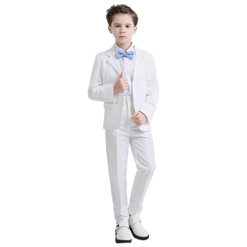 2018 new fashion white/balck baby boys suit kids blazers boy suit for weddings prom formal spring autumn wedding dress boy suits hot sale top quality baby boys spring autumn casual blazers jacket wedding suits for boy formal children clothing kids prom suit
