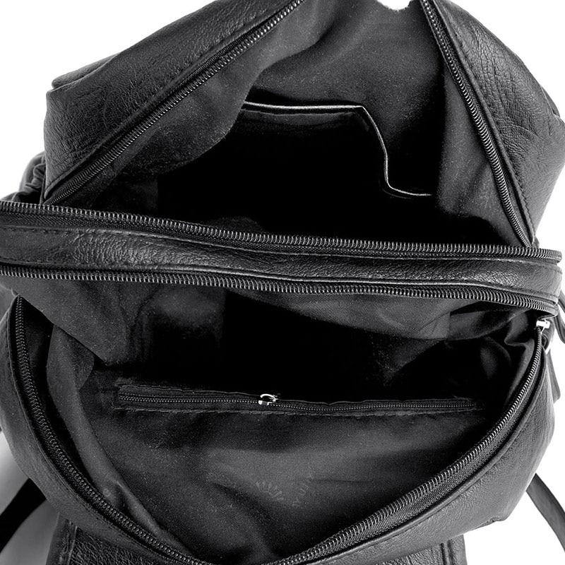 HTB14vHwaLjsK1Rjy1Xaq6zispXag 2018 Women Backpack high quality Leather  Fashion school Backpacks Female Feminine Casual Large Capacity Vintage Shoulder Bags