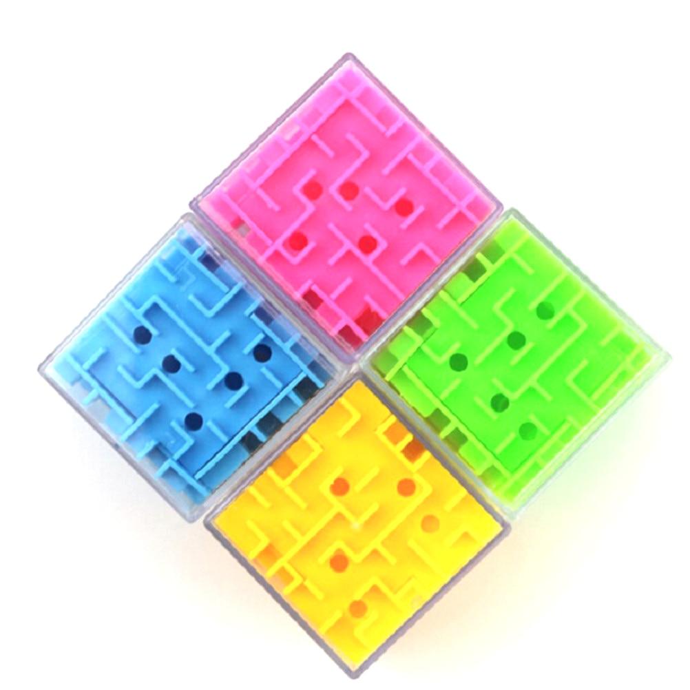 3d Cube Labyrinth Magie Rolling Ball Puzzle Gehirn Teaser Spiele Kugel Labyrinth 5,5x5,5x5,4 Cm Sammeln & Seltenes