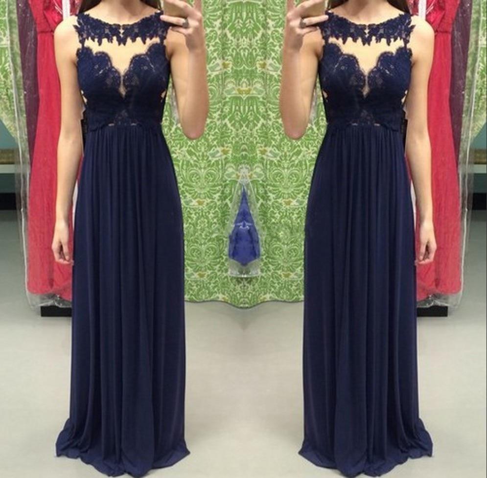 dfee07fe7 Vestidos de noche azul marino 2016 - Vestidos formales