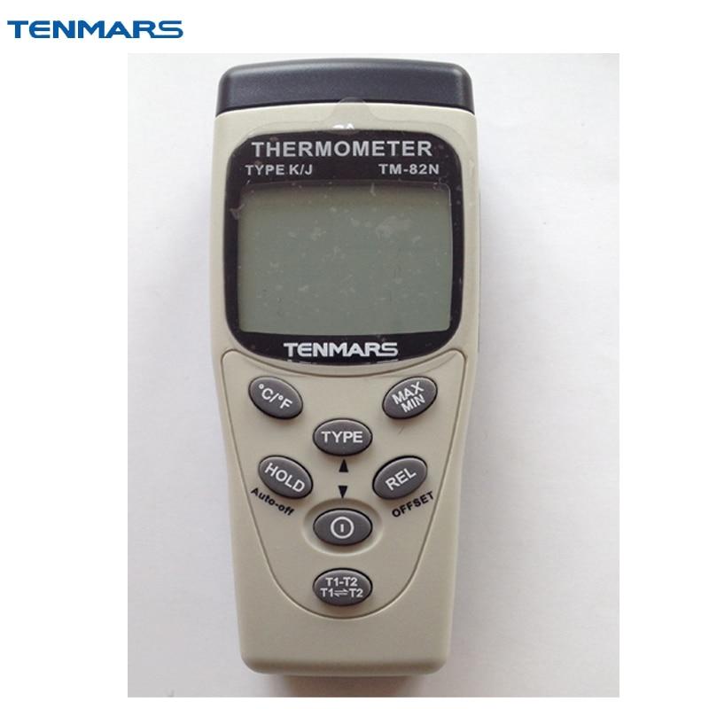 TENMARS TM-82N K/J Type Thermometer стоимость