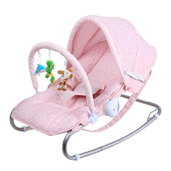 Multi-function Baby Rocking Chair Baby Rocking Chair Newborn Coax Sleeping Pillow Cradle Chair electrical baby cradle rocking chair folding baby bed cradle baby rocking newborn crib musical chair plastic toys moonlight star