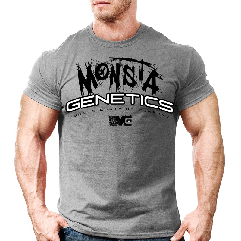 2018 Coton Gym Sport T Shirt Hommes Manches Courtes Muscle Fonctionnement T-shirt  Hommes Formation 8b09fc5790c