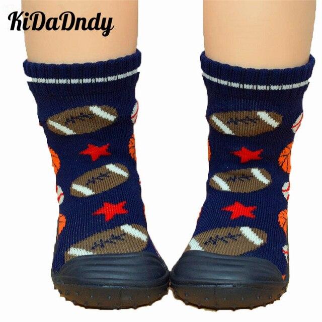 Kidadndy Enfant chica NIÑOS Calcetines con suela de goma niños Soft ...