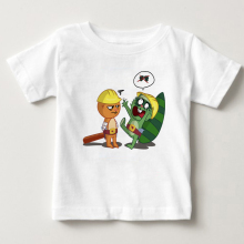 2018 summer children Tshirt Happy Tree Friends Handy T Shirt baby boys and girls Short Sleeve S/3XL Pure cotton