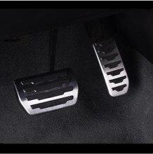2 pcs In Acciaio Inox Acceleratore Pedale Del Freno Decorazione Decalcomanie Per Jaguar XE F-PACE X761 Accessori Per Interni Auto
