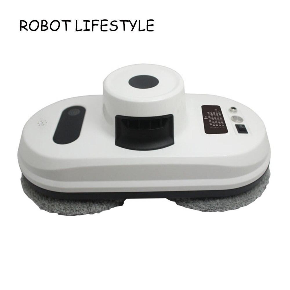 Fenêtre De Nettoyage Robot Haute Aspiration Fenêtre Cleaner Robot Anti-chute Télécommande Aspirateur Fenêtre Robot