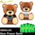 2016 MO Regalos de Diseño de la Marca de Lujo Logo Cargador de Batería Externo del Banco de la Energía 8800 mAh Lindo Oso Oso Para AllCellphone Caliente venta al por mayor