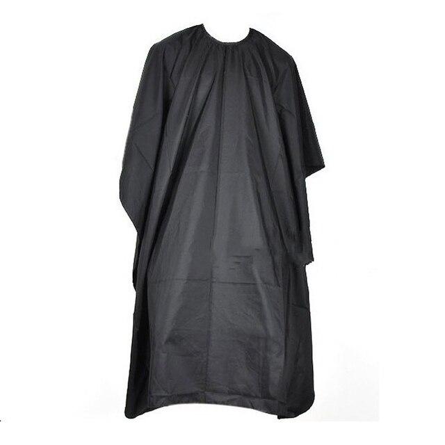 Волос Резка Парикмахерские Ткань парикмахеры парикмахер большой салон взрослых Водонепроницаемый Cape Gown Обёрточная бумага черный Парикмахер мыс платье Обёрточная бумага