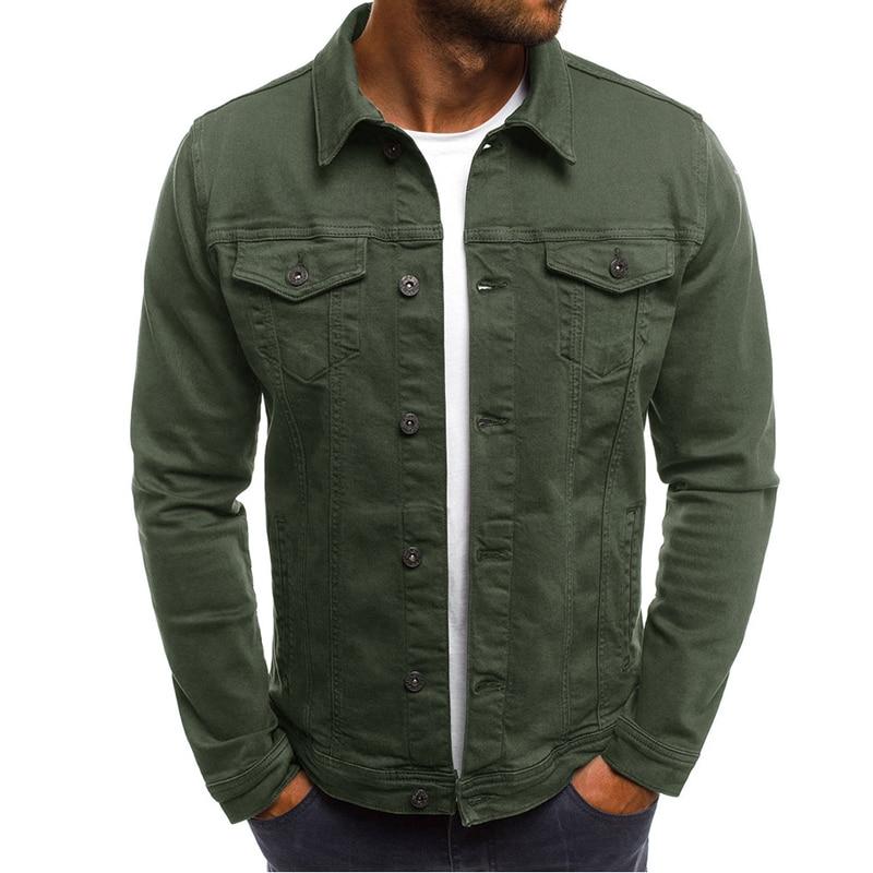 DIMUSI Spring Mens Denim Jacket Fashion Male Jeans Jackets Slim Fit Casual Streetwear Vintage Men Jean Outwear Clothing.TA325 1
