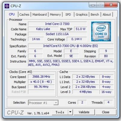 I3-7300