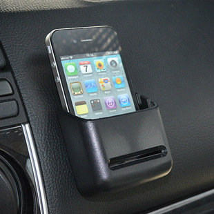 Paste multipurpose car phone holder Item Box Free shipping