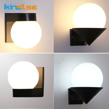 Modern Outdoor Porch Wall Light Waterproof IP54 Acrylic LED Light Corridor Balcony aisle stairs Up Down Gate Wall Lamp AC90~260V