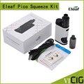 100% original eleaf pico caixa de aperto kit mod com coral 50 w starter kit powered by único de 18650 células