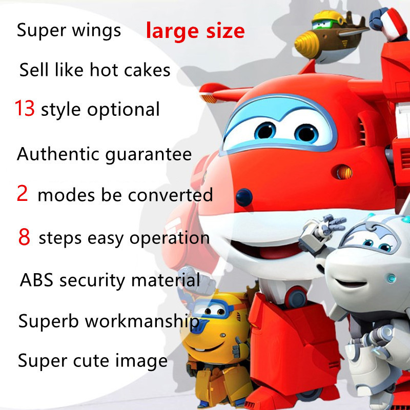 one piece anime action figure super wings deformation robots <font><b>bonecos</b></font> china robot <font><b>pop</b></font> hot toys for children kids gift movie tv image