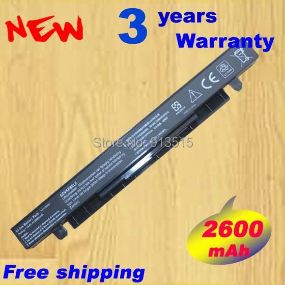Nueva genuina del ordenador portátil de la batería para Asus K550L clip X550C batería A41-X550A 44WH 2600 mAh