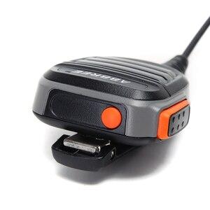 Image 5 - Walkie talkie abbree AR 780 à prova d água, 2 peças, microfone com 2 pinos ptt, rádio kenwood, tyt baofeng, 2 peças rádio